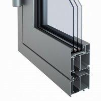 """Мініатюра 2 - Алюминиевая система """"Люкс-термо"""""""