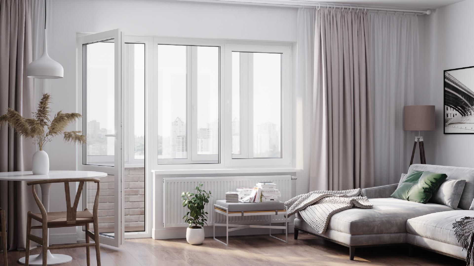 Окна для балкона - Фото 1